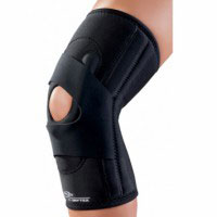 lateral J hinged knee brace